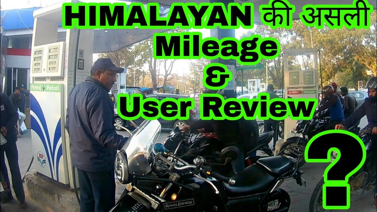 Royal Enfield Himalayan Mileage Test And Honest Review Engineer