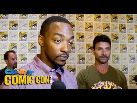 Anthony Mackie & Frank Grillo Talk Captain America: The Winter Soldier - 2013 Comic-Con