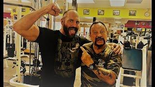 Bushwacker Luke gives Tour of his Gym HQ