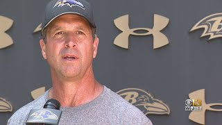 Ravens Coach John Harbaugh Defends Baltimore After Trump Tweets
