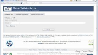 Курс HTML - Урок №31. Валидация документа.