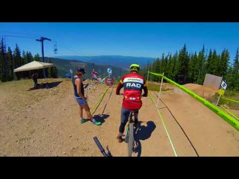 2017 SILVER MOUNTAIN BIKE PARK - North American Enduro Cup Day 1: Stage 3 Full Run!!!