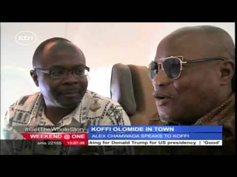Exclusive interview with visiting Congolese musician Koffi Olomide on his Kenyan visit