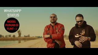 Model Punjab Di - Full Song - Flawless | Flint J - Whats app Status.