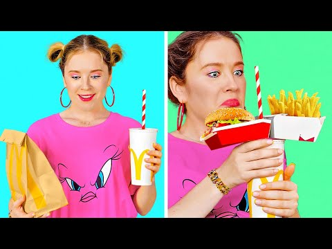 HACKS FOR REAL FAST FOOD LOVERS | Smart Fast Food Hacks And Hilarious Foodie Situations