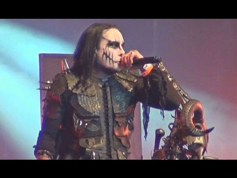 Cradle of Filth - Nymphetamine (Fix) - Live Hellfest 2015