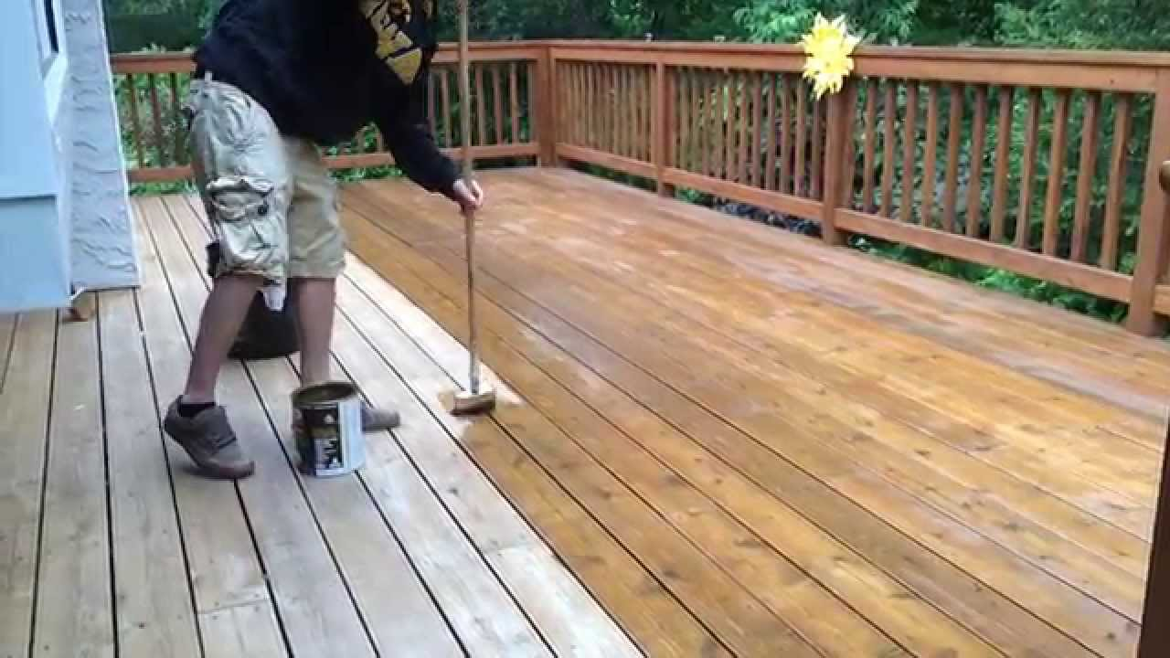 Twp Deck Stain Maintenance Coat Youtube