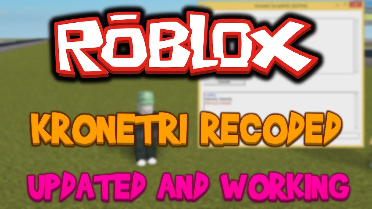 New Roblox Hack Script Execution Commands Kronetri Recoded