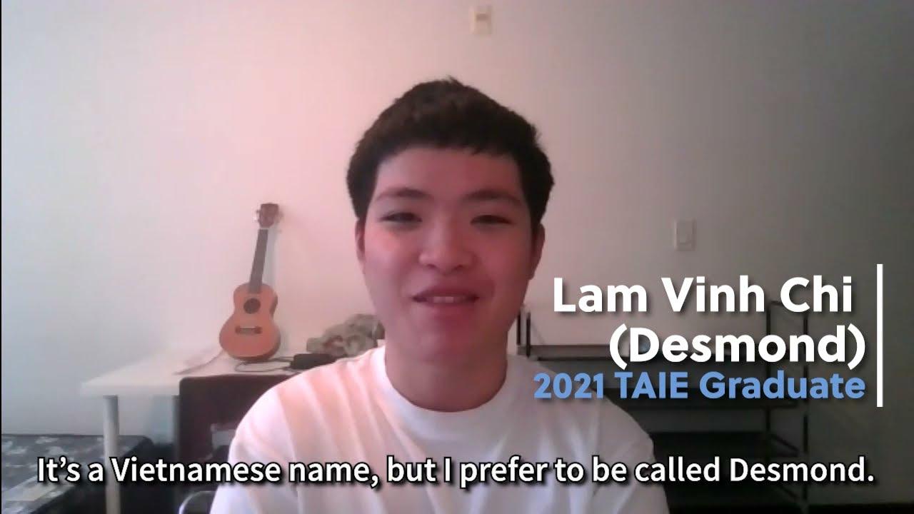 2021 Grad Spotlight - Desmond Lam