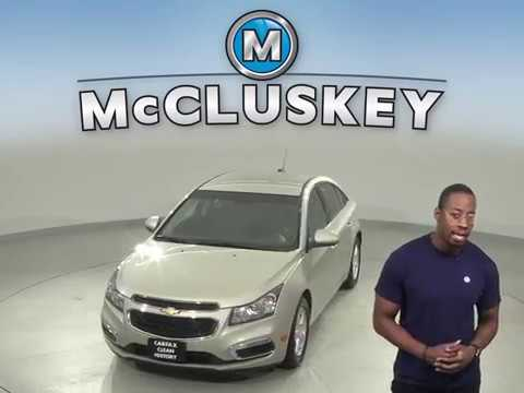 A13566GT Used 2016 Chevrolet Cruze Gold Sedan Test Drive, Review, For Sale -