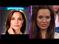 ¡Es igual! Angelina Jolie vino a jugar a Las puertas