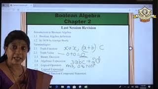 2-Boolean Algebra