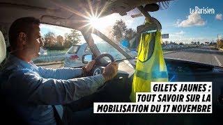 Gilets jaunes : tout savoir sur la mobilisation du 17 novembre