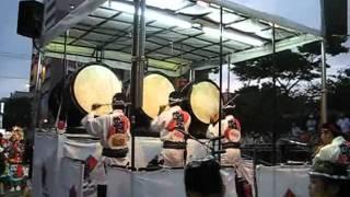 2011年 青森ねぶた祭 育英会の前囃子