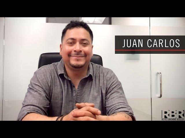 Juan Carlos – Recomendación de Cliente para Abogado de Accidente Angel Reyes