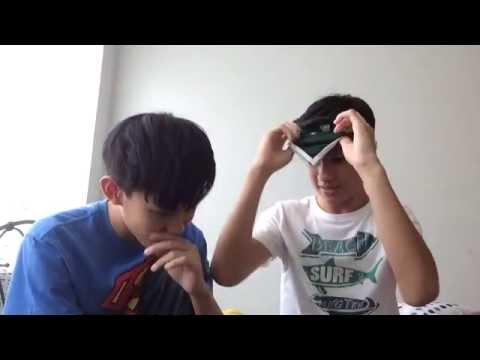 blindfold challenge