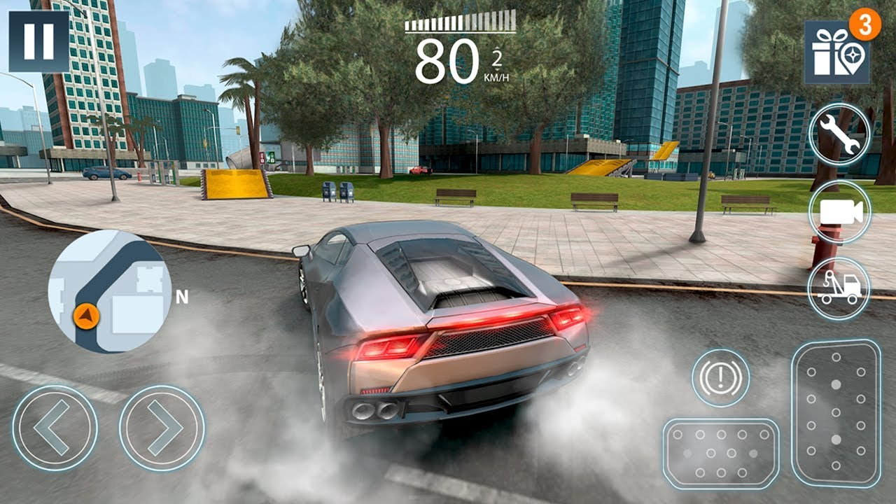 extreme car driving simulator hack android