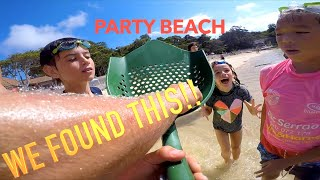 Found EXTREMELY Valuable GOLD Antique TREASURE!! Famous Party Beach Metal Detecting (Owners Found)