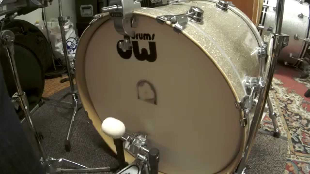 vickick felt beater vs dw beater 20 bass drum low tuning youtube. Black Bedroom Furniture Sets. Home Design Ideas