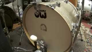 vickick felt beater vs dw beater 20 bass drum low tuning