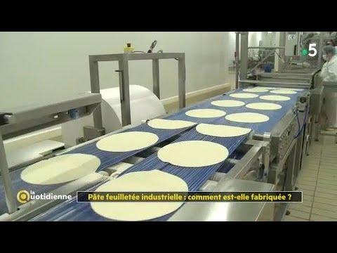 Pâte feuilletée industrielles : comment est-elle fabriquée ?
