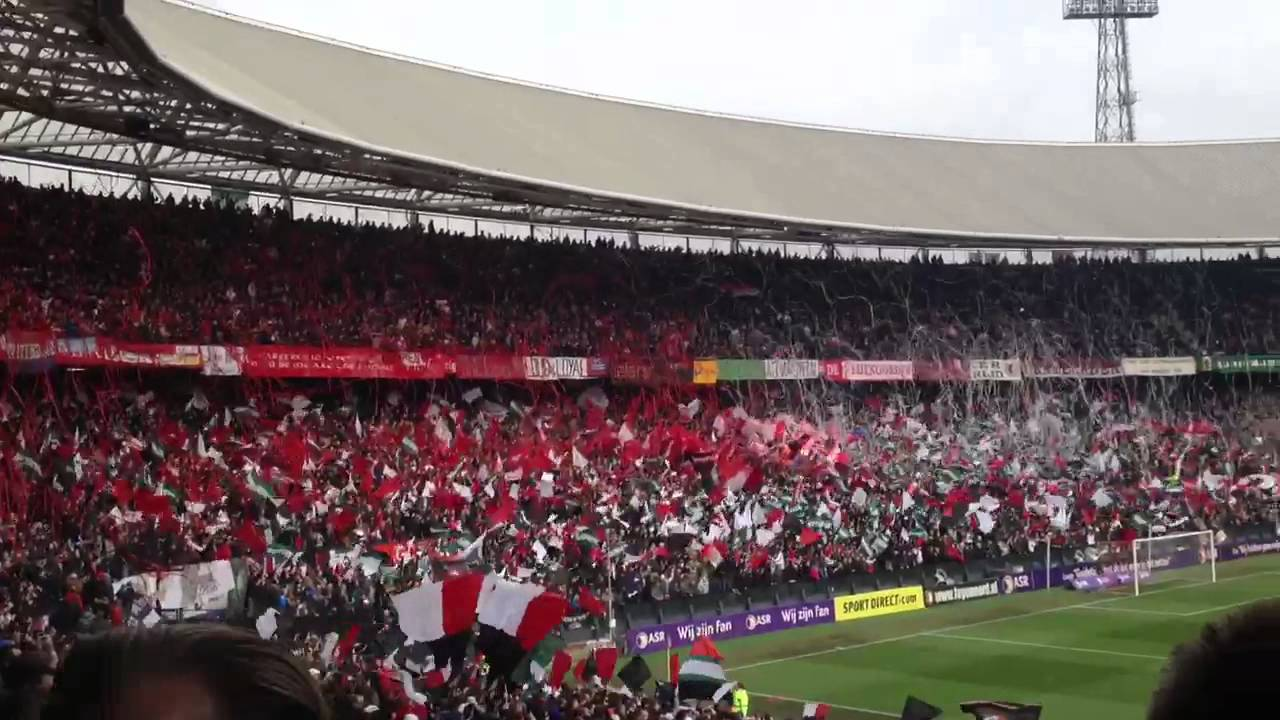 Feyenoord welcome in the kuip youtube for Canvas feyenoord de kuip
