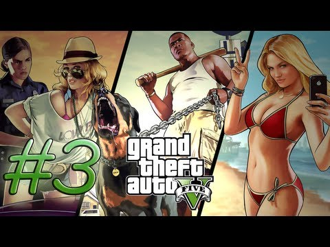 Grand Theft Auto 5 - Strangers & FIENDS! #3 (GTA 5 Let's Play)