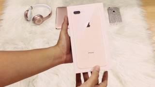 [UNBOXING] iPHONE 8 PLUS GOLD -256GB [MANILA PHILIPPINES]