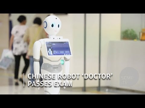 Robot 'doctor' has passed China's medical licensing exam