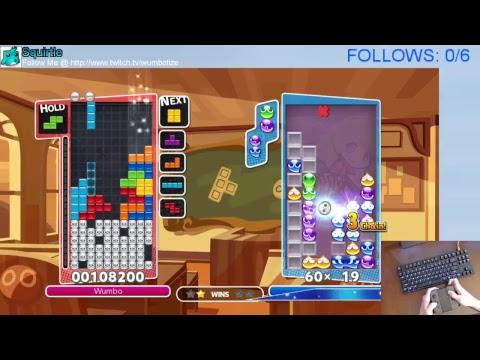 Puzzle League w/ Wumbo! Rank #4 Worldwide 23695➜23735 [Switch]