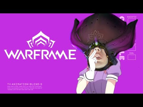 Some Blend S weebtrash thing but it's a Warframe meme thumbnail