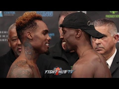 jermell-charlo-&-tony-harrison-mouth-off-at-each-other-during-weigh-in-&-face-off