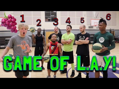 HUGE Game Of L.A.Y vs Special Guests!