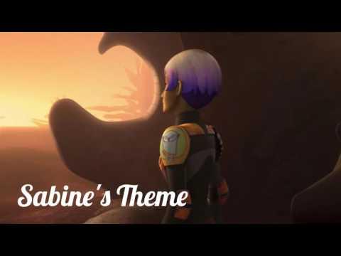 Sabine's Theme. (Music Only) Star Wars Rebels. Please check descripton