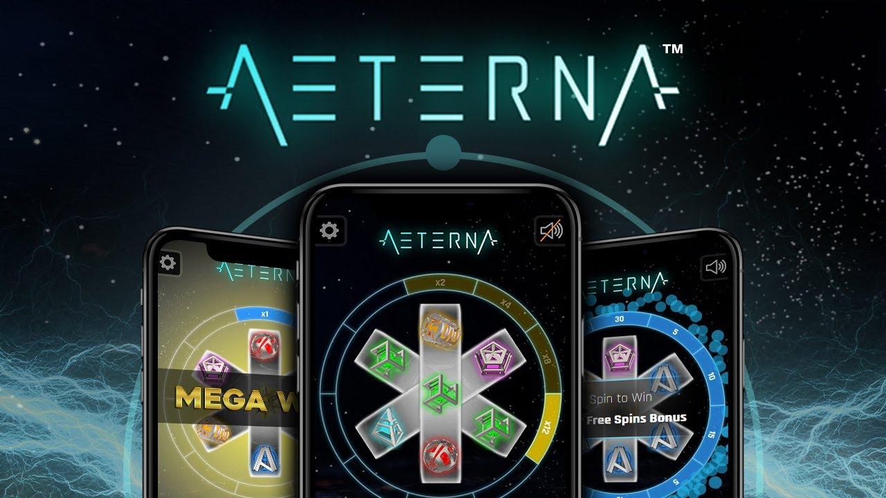 Aeterna Slot - Black Pudding Games - YouTube