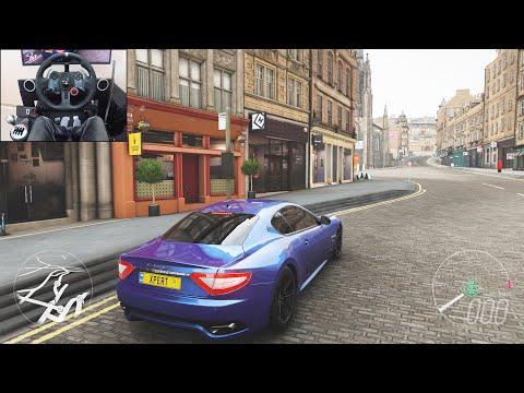 Maserati Gran Turismo S - Forza Horizon 4 | Logitech G29 Gameplay