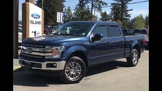 2018 Ford F-150 Lariat V8 SuperCrew Review| Island Ford