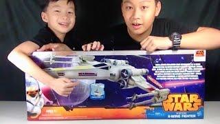 แกะกล่องยาน STARWARS X-Wing Fighter ลำใหญ่ยักษ์