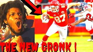 CHIEFS VS TEXANS REACTION DIVISIONAL ROUND HIGHLIGHTS - KELCE IS THE NEW GRONK !