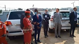 Bobi Wine Akyaziza Abakulu Okuva Mu European union