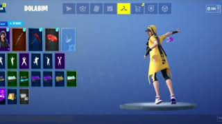 Fortnite glittery dance with all skins