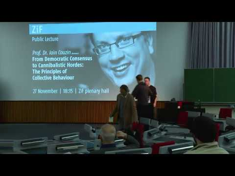 Iain Couzin: The Principles Of Collective Behaviour
