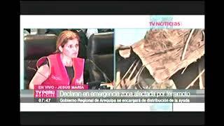 CONFERENCIA PRENSA DE PREMIER, MINDEF E INDECI : TV-7 15ENE18