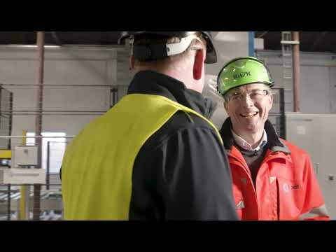 Interview on New Packaging Line for Faxe Kalk AS