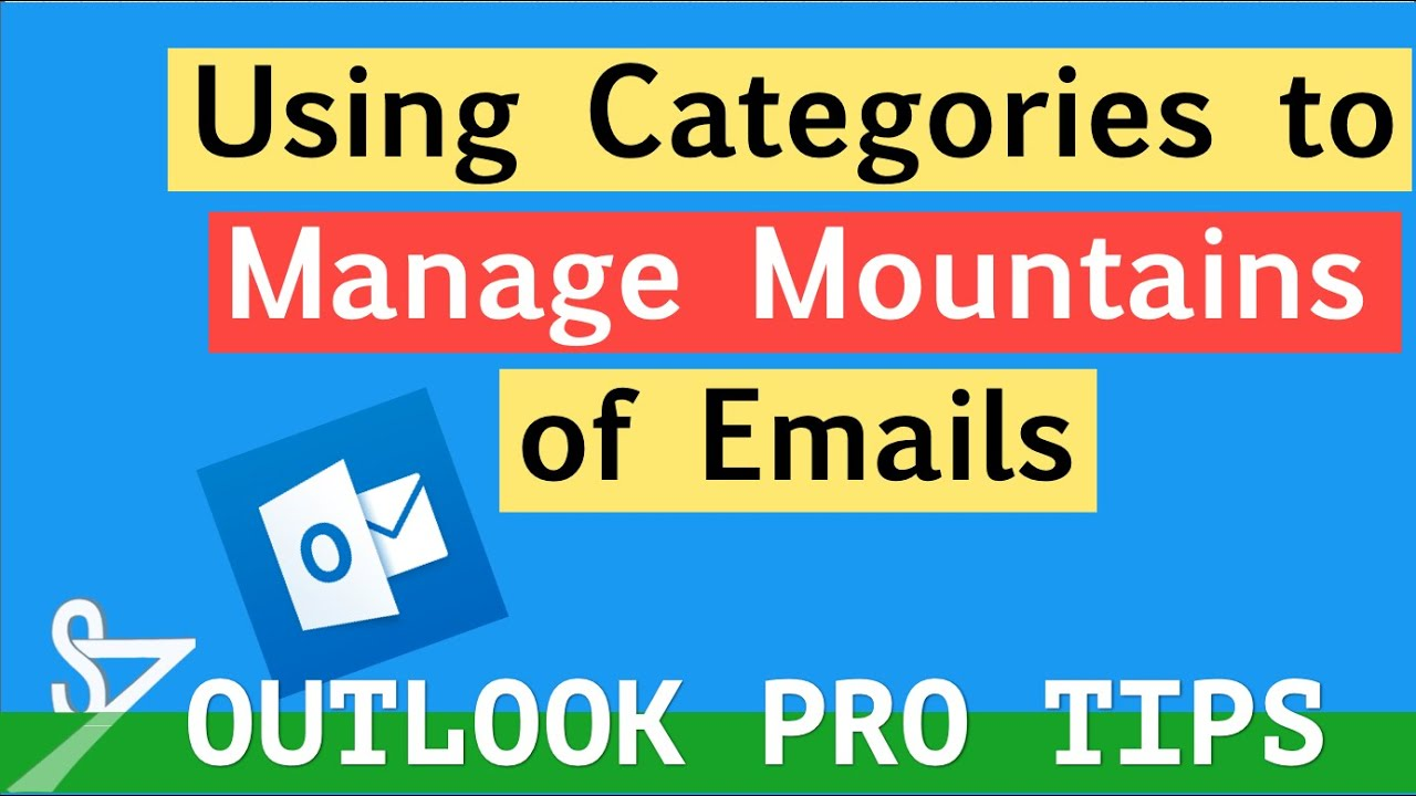 Microsoft Outlook - Creating Categories To Organize Email ...