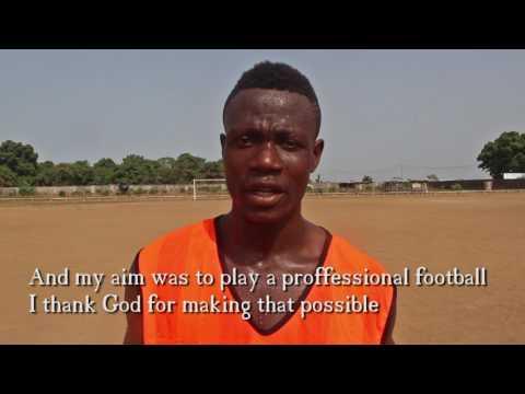Sanfa Conteh Sierra Leone Football Player 12 showcase
