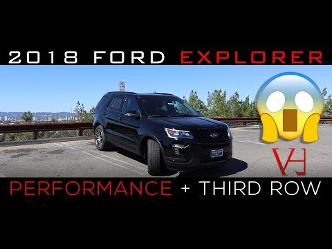 2018 Ford Explorer Review | Excellent Performance + A Third Row
