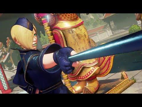 Street Fighter 5 Falke Character Trailer
