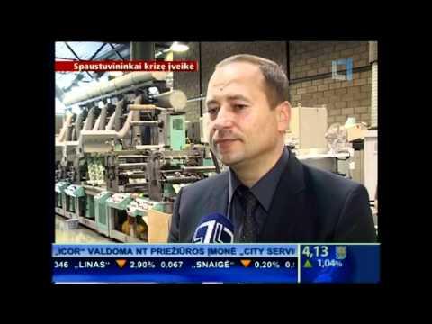 LTV apie spaustuves 2012