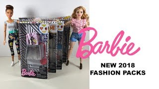 More 2018 Barbie Fashion Packs - DC Super Heroes | Minions | Super Mario